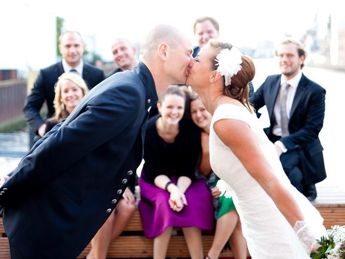 Hochzeitsfotos mit Ulrike und Niels an der Weser