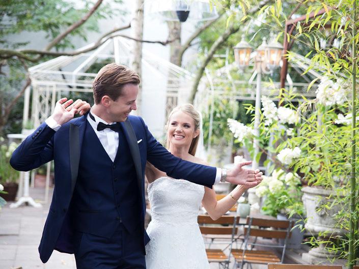 Hochzeit mit Anna und Tim in Düsseldorf/La Dü